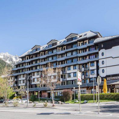 location appartement vacance chamonix mont-blanc résidence le chamois blanc
